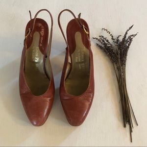 Vintage Enzo Pagano by Roberta Spinelli Roma Heels